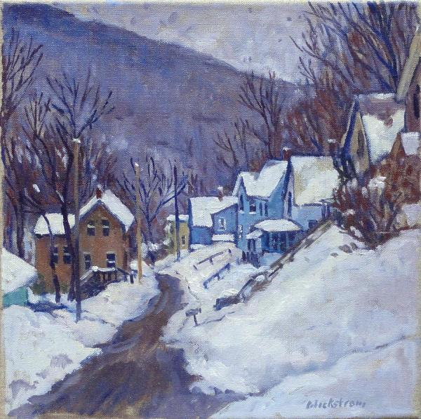 Vermont Winter Painting