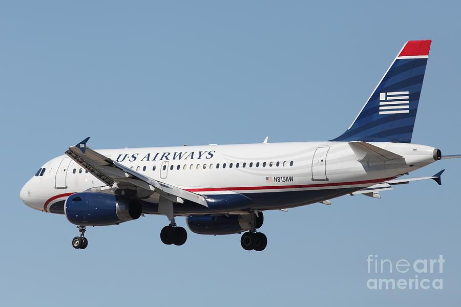 us airways jet airplane