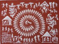 Warli Paintings ~ Siva Travelogue