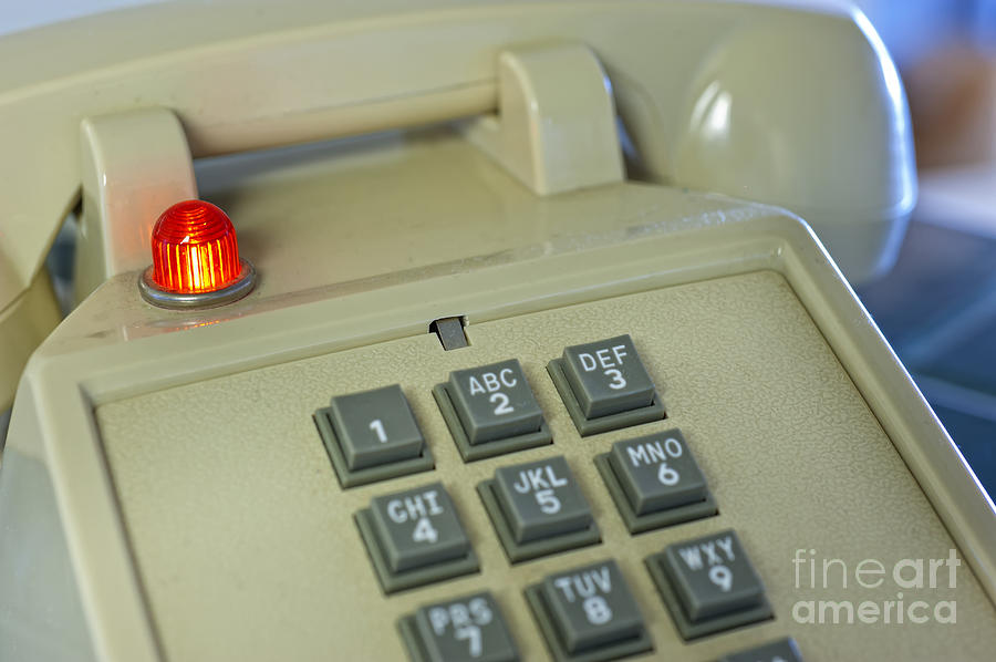 kitchen phone villeroy boch sinks vintage keypad with red light at hatch photograph by old andre babiak