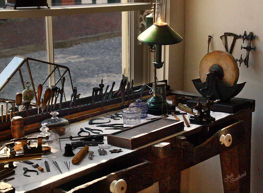 Watchmaker S Tools Photograph By Judi Quelland