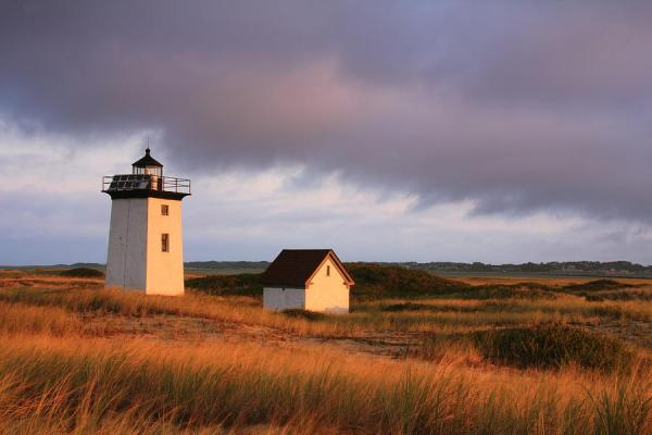 wood end lighthouse landscape