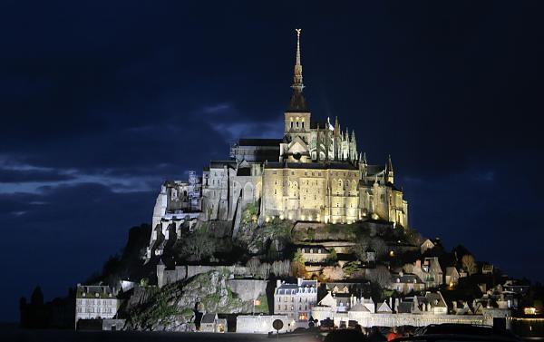 Mt. Saint Michel at night, Joshua Francia