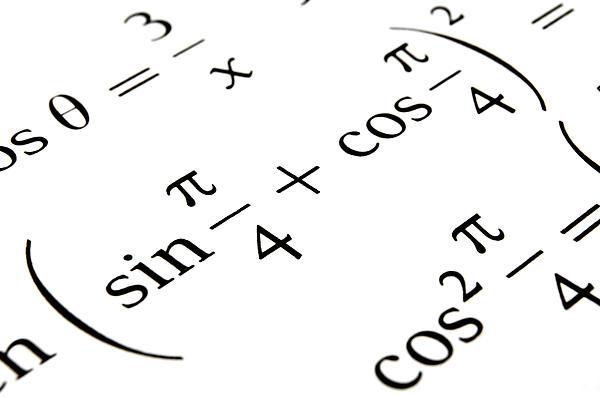 Algebra Formulas Close Up. by Fernando Barozza