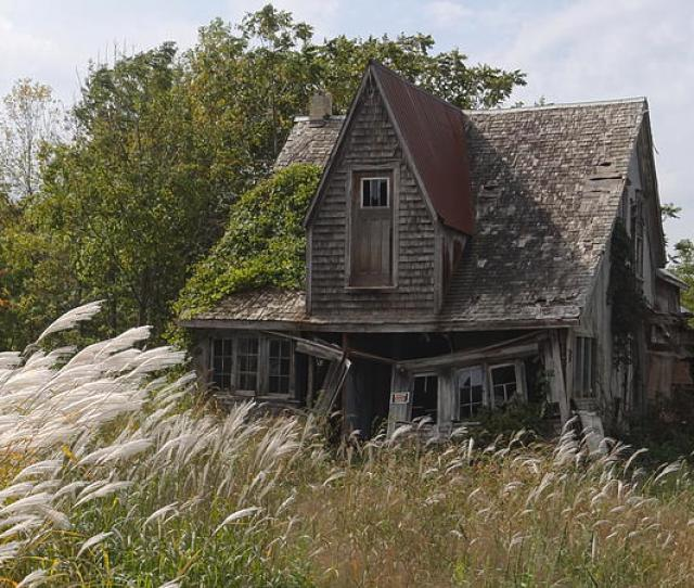 Abandoned Farmhouse Ted Kooser