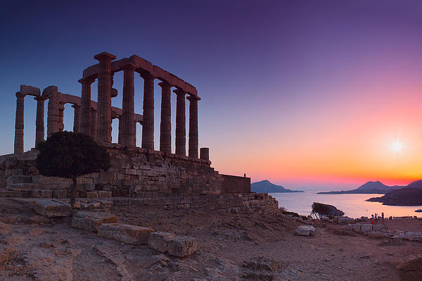 Cape Sounion Photograph
