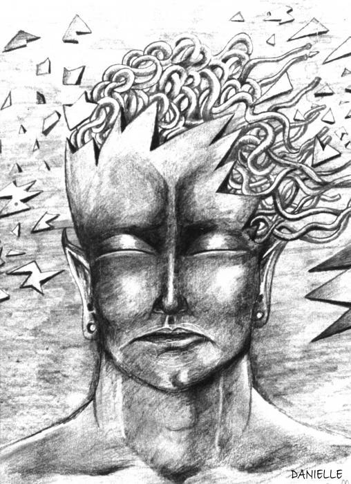 Loosing My Mind Drawing