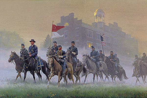 Create Your Own Iphone Wallpaper Online Morning Riders By Mort Kunstler