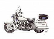 Harley Davidson Motorcycles Drawings for Sale