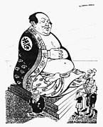 Mao Tse-tung Cartoon, 1958 by Granger