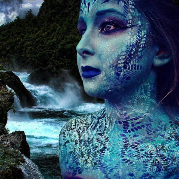 Atlantis Mermaid Digital Art Lucky Chen
