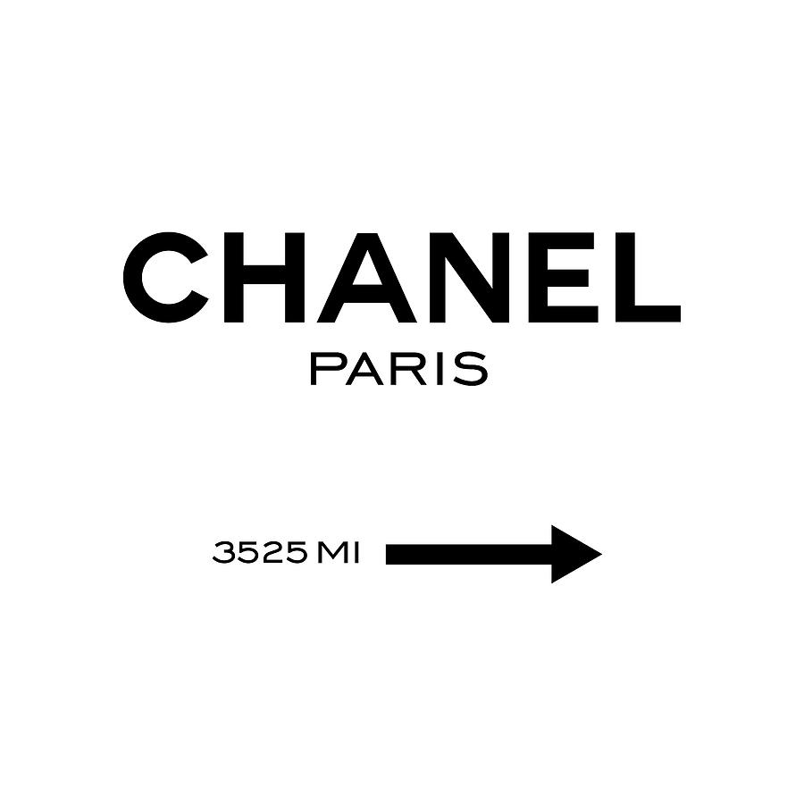 Chanel Paris Digital Art by Tres Chic