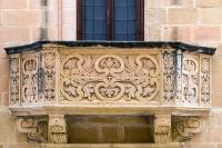 Decorative Stone Balcony Photograph by Focus Fotos
