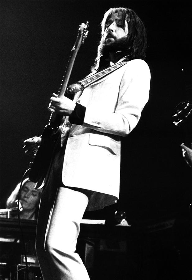 Eric Clapton 1973 Photograph by Chris Walter