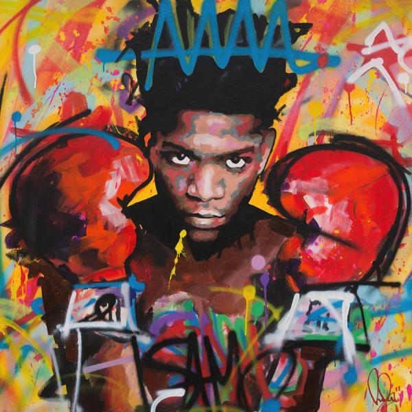 Jean Michel Basquiat Painting Richard Day