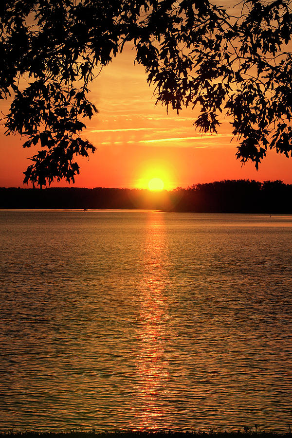 Free photo 'mountain lake sunset' for use in both your personal and commercial projects. Smith Mountain Lake Silhouette Sunset Photograph By The James Roney Collection