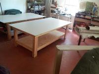 Work Table Sculpture by Hart Rueter