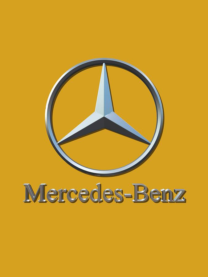 Mercedes Logo Digital Art by Mercedes Logo