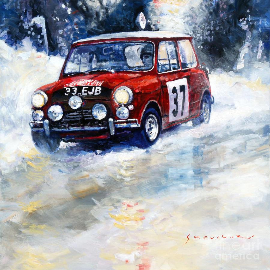 1964 Rallye Monte Carlo Mini Cooper S Hopkirk Liddon