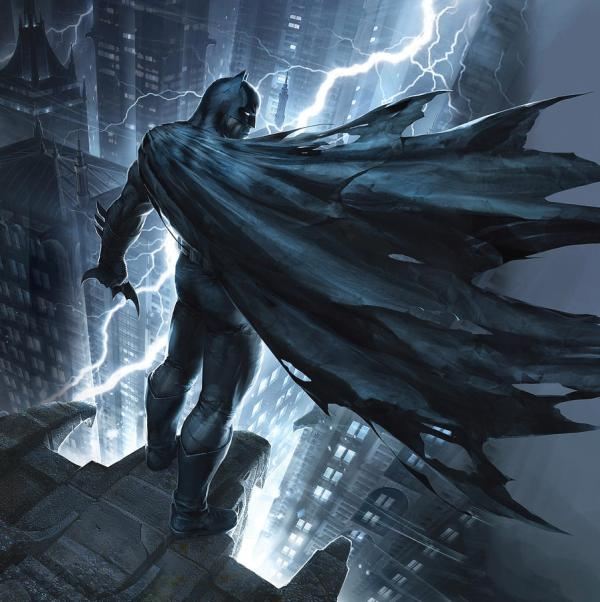 Batman Dark Knight Returns 2012 Digital Art Geek Rock