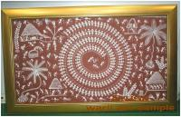 Warli Art Painting by AYUSH Adivasi Yuva Shakti