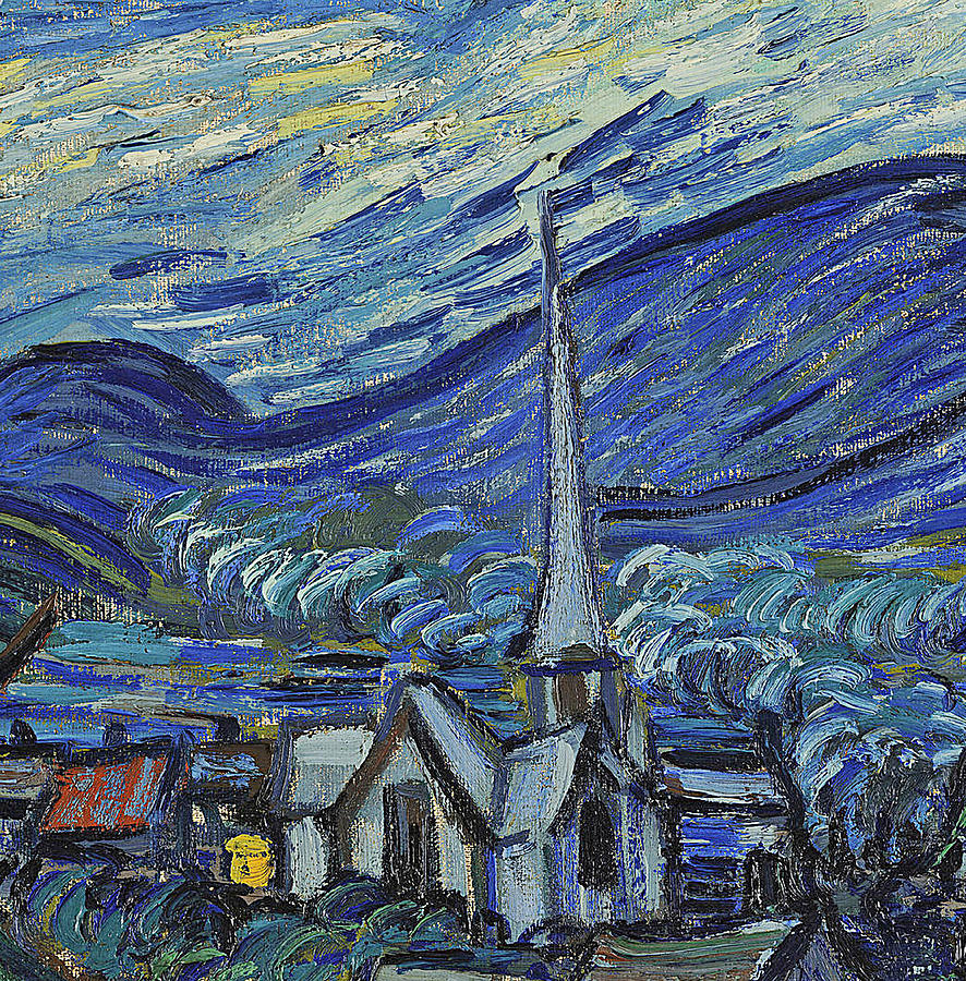 The Starry Night Painting by Vincent Van Gogh