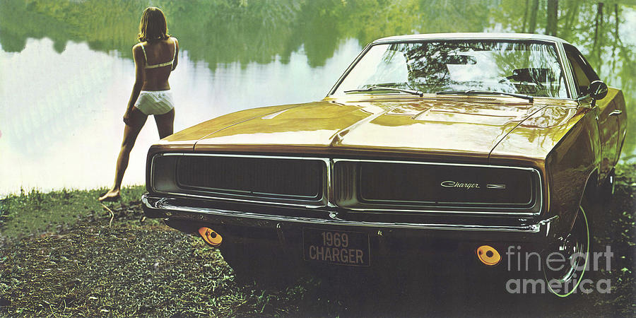 69 dodge charger by