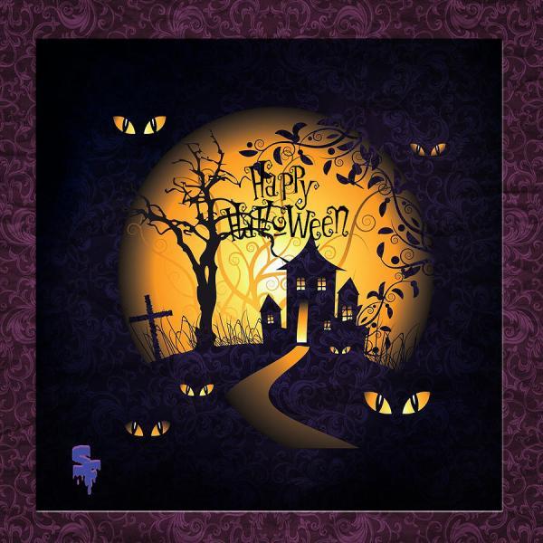 Halloween Digital Art Sonia Ferentinou