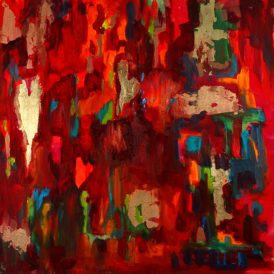 abstract love paintingbillie colson