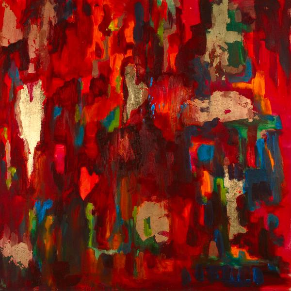 Abstract Love Painting Billie Colson