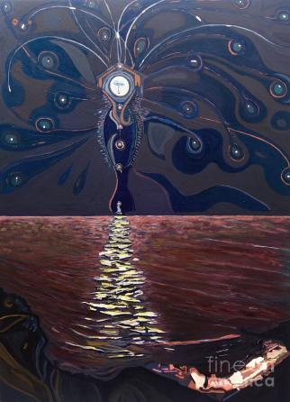 Image result for virgo moon painting