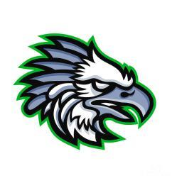 american harpy eagle mascot [ 900 x 900 Pixel ]