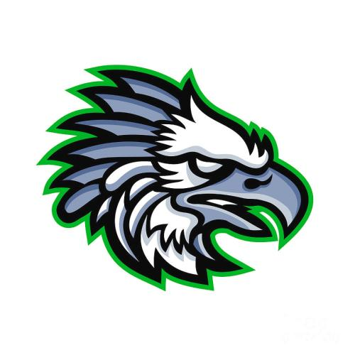 small resolution of american harpy eagle mascot