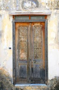 Ancient Doors In Greece Photograph by Maria Varnalis