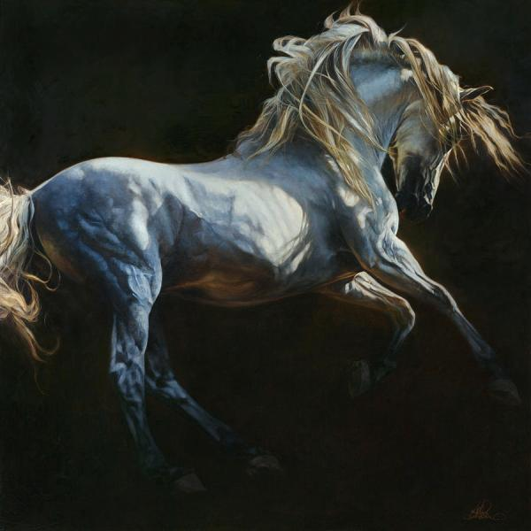 Horse Equine Art Painting