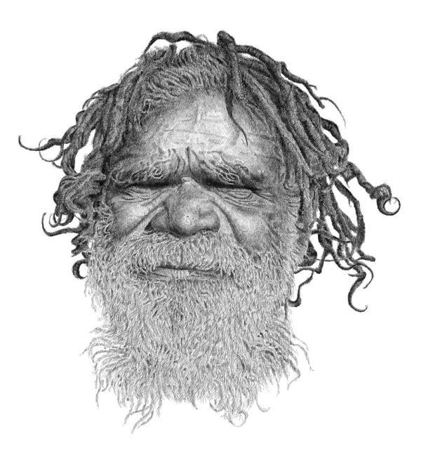 Australia Aboriginal Drawing Kim Philipsen