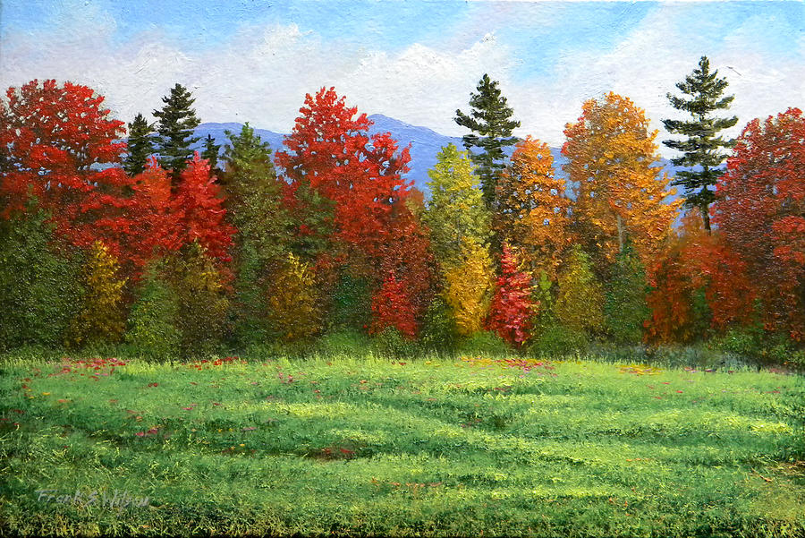 autumn trees by frank
