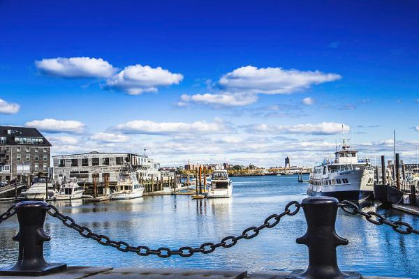 Beautiful Boston Harbor Photograph by Lisa LemmonsPowers