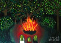 Beltane Painting by Aidao Art
