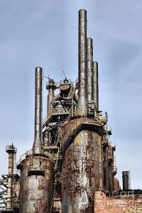 Bethlehem Steel Blast Furnaces Photograph by DJ Florek
