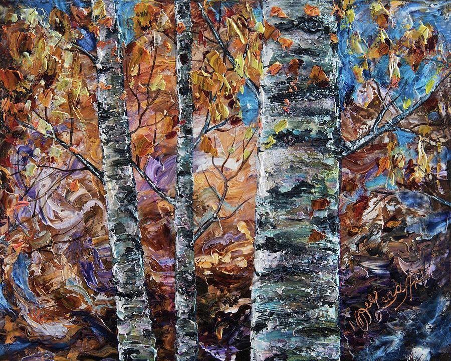 Painting Birch