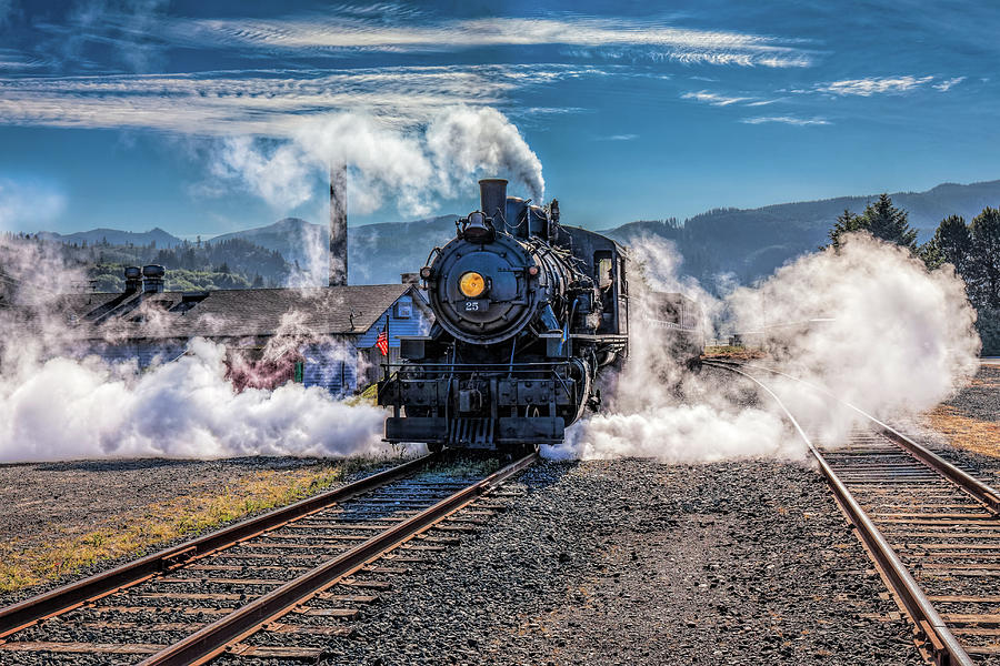 Blowin' Off Steam Photograph by Thomas Hall
