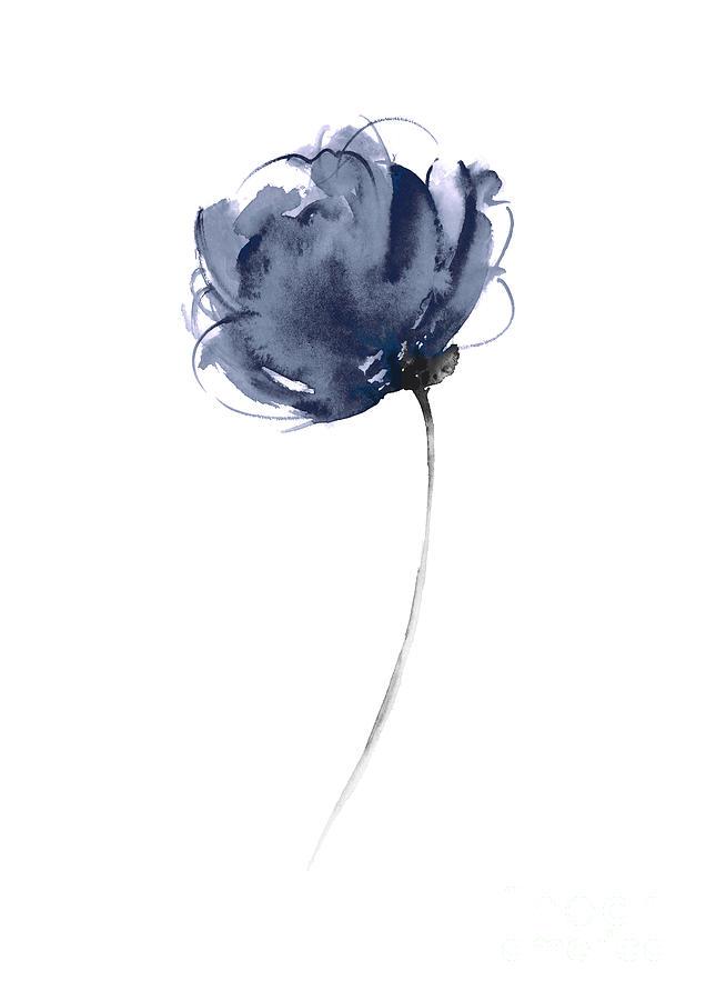 blue flowers home garden
