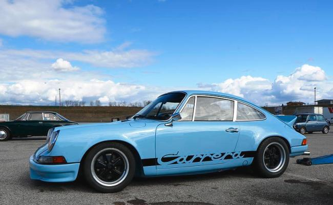 Blue Sky Carrera Rs Photograph By Strada Motives