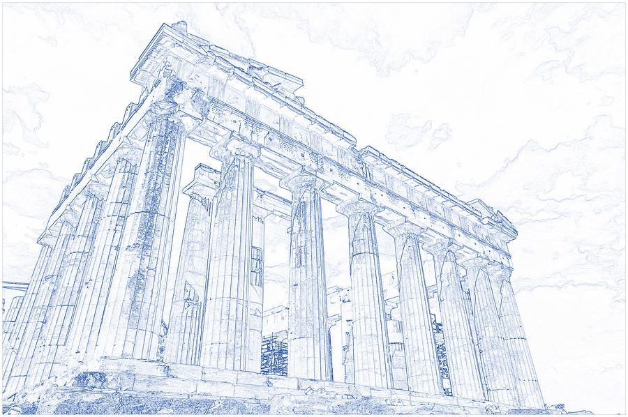 Column Print Architectural Print Architecture Poster Greek Ionic Column Drawing Blueprint Art Blueprint Drawing Blueprint Wall Decor Drawing Illustration Art Collectibles Delage Com Br