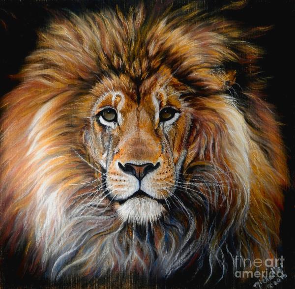 Bold Lion Pastel Michaeline Mcdonald