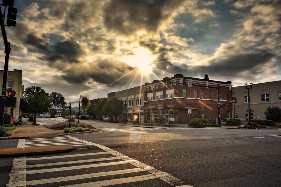 Bright Sun In Murphy North Carolina Photograph by Greg Mimbs