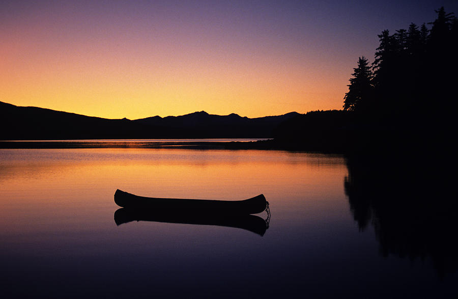 calming canoe by john