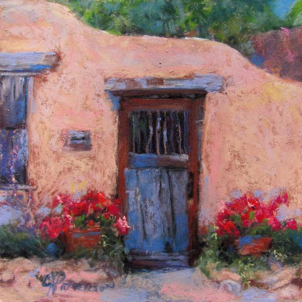 Canyon Road Painting Julia Patterson