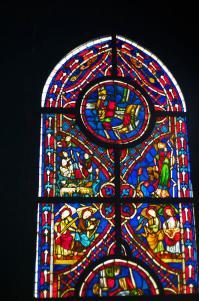 Church Window Decoration Photograph by Win Naing
